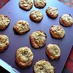 recette Cookies chocolat blanc & pistaches