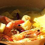 recette Curry de crevettes à l'ananas