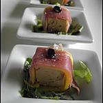 recette Sashimi de Foie Gras à la Mangue