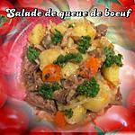 recette Salade de queue de boeuf.
