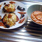 recette Feuilletté aux fruits de mer, épinard et coulis de tomates.