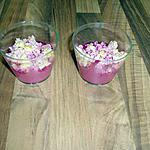 verrine betterave : recette mini vérrine apéritives thon betterave