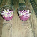 recette mini vérrine apéritives thon betterave