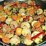 recette poelée de légumes du soleil