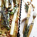 recette Tarte aux asperges à l'italienne