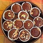 recette muffins au chocolat (sans levure et sans beurre)