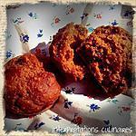 recette muffins pomme-cranberry-mangue