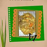 recette boeuf aux légumes et sa sauce