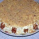 recette Gâteau Aux Noix Fourré A La Crème