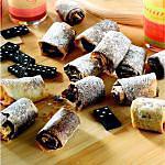 recette Petit roulés aux nutella