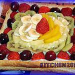 recette Tarte Touti Frutiiii