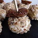 recette truffes salées au fromage de chèvre