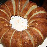 recette Gâteau à la liqueur de cassis