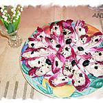 recette Pétales de Carmine «  saveur marine »
