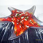 recette poivrons rouges grillés en salade