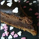 recette Cheesecake aux 2 chocolats et Miroir de Caramel au Beurre & Fleur de Sel Vanillée