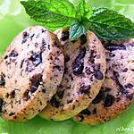 recette SABLES CHOCO-MENTHE
