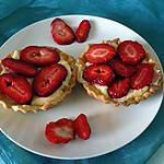 recette Tartelettes aux fraises allégées