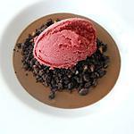 recette Parfait au cacao amer, crumble de cacao
