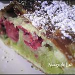 recette Galette des Rois Framboises/Frangipane et Pâte de Pistache