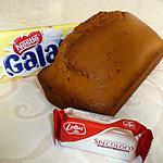 recette Cake Chocolat blanc et Speculoos