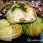 recette Chaussons de choux, poulet et foie gras