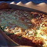 recette Clafouti courgettes jambon cru feta pignons