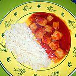 recette Blancs de calamars à la sauce tomate
