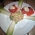 recette Salade d'avocat au crabe