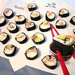 recette Sushi avocat thon et crevettes