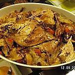 recette faisan aux choux