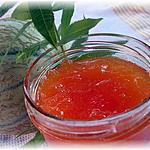 recette confiture de melon