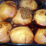 recette Pommes pochées au vin chaud