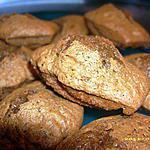 recette madeleines au chocolat, au coeur fondant