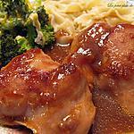 recette Poulet à l'oignon Bar-B-Q