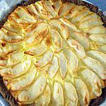 recette Tarte gourmande aux pommes / mascarpone
