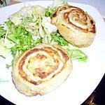 recette roulés thon-champignons-mascarpone