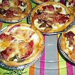 recette tartellettes ratatouille chorizo