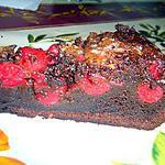 recette Fondant au chocolat et aux griottes