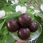 recette billes chocolatées fourrées à la pralinoise