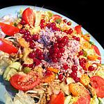 recette Ready for Bikini Salad: Thon, Sésame et Groseilles
