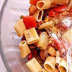 recette Salade de pâtes à la manière d'Eléonora