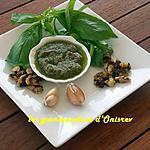 recette Pesto au basilic et noix