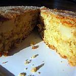 Cake à la crème d'avoine et à la poire