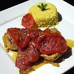 recette TAJINE DE POULET(à la tomate caramélisée)