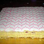 recette Millefeuille framboise