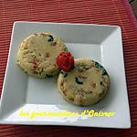 recette Tartelettes de Polenta en arlequin