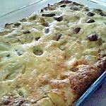 recette Omelette de pommes de terre et saucisses de volaille cuit au four