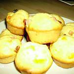 mini-cakes aux fruits confits