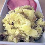 recette Ecrasé de pommes de terre à l'huile d'olive vanillée